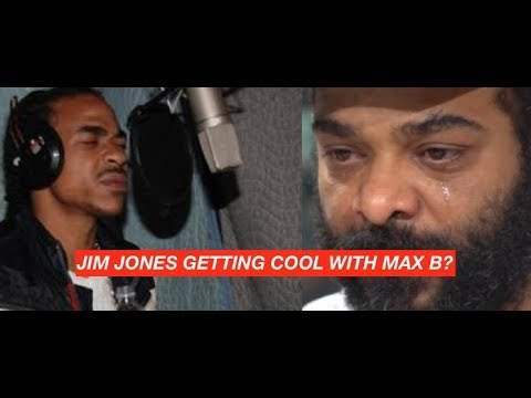Jim Jones ENDING BEEF with Max B?
