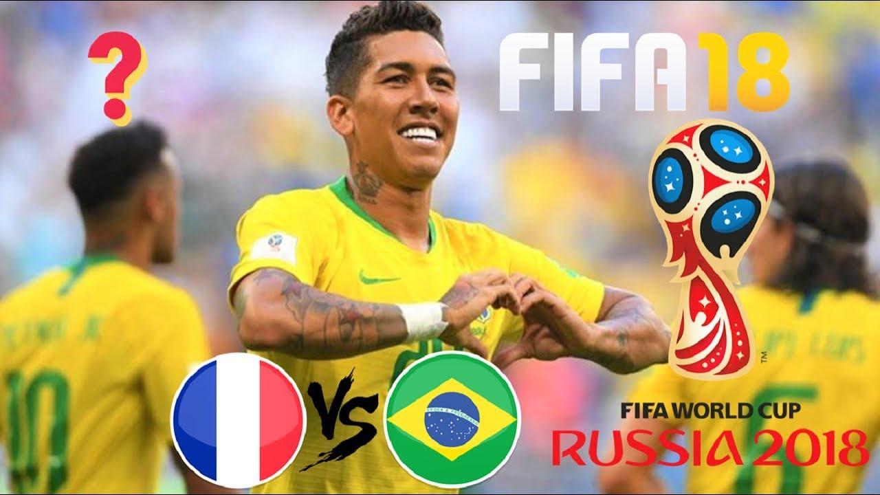 BRASIL X FRANÇA - O JOGO QUE NÃO ACONTECEU! FIFA 18 WORLD CUP RUSSIA ... cca23cc2fbe8e