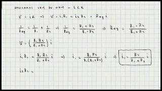 Divisor de Corriente - Resistencias en Paralelo - Circuitos Electricos - Video 102