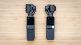 DJI Pocket 2 vs Osmo Pocket - (Almost) Everything is New