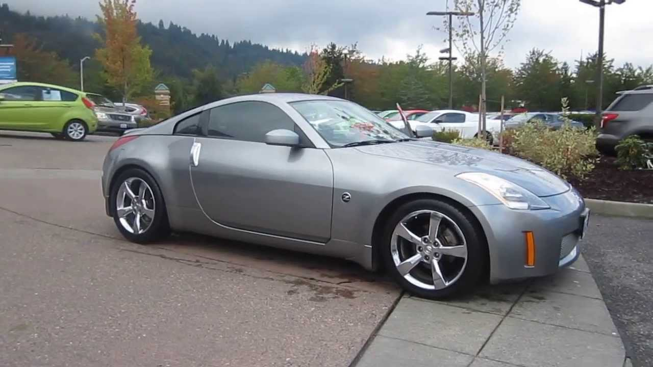 2004 nissan 350z, silver - stock# 19811b - youtube