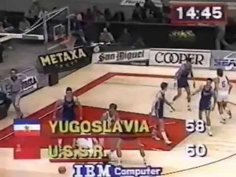 Jugoslavia - USSR (Olympic 1988 Qualification Tournament)