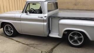 1966 CHEVY C10 BIG WINDOW STEPSIDE RESTORED SOLD