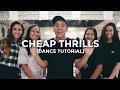 Cheap Thrills - Sia (Dance Tutorial) | @besperon Choreography #BESPERONCHEAPTHRILLS