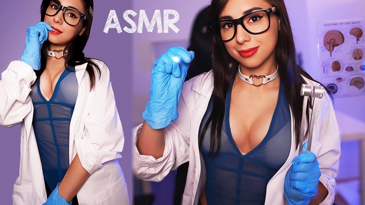 ASMR REALISTIC CRANIAL NERVE EXAM  👩⚕️ 🔦  (Doctor Roleplay, Medical Examination)