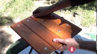 Уникальный раскладной стул муравей