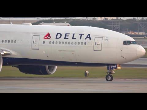 (HD) Heavy Aircraft Friday At Atlanta Hartsfield Jackson International Airport KATL/ATL