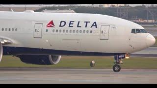 (UHD) Heavy Aircraft Friday at Atlanta Hartsfield Jackson International Airport KATL/ATL