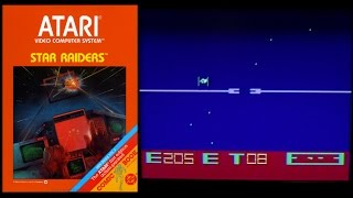 Favorite Atari 2600 Games of Willie! Star Raiders!
