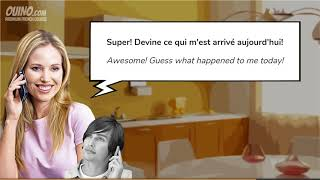 6 Learn French with Conversations  #4   The Phone Call informal   OUINO com   YouTube