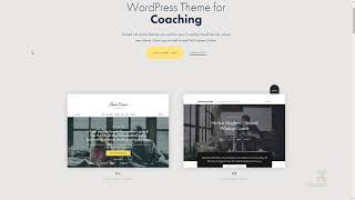 Efor - Coaching and Online Courses WordPress Theme Gray Gil