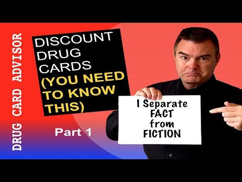 Discount Drug Cards - You Need To Know This (Part 1)