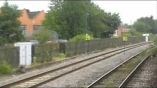 Class 43 HST Ride Nottingham - Leicester Part 1