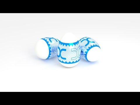Create a Decorated Easter Egg Scene in Blender (Beginner)