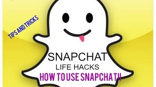 snapchat app|features for android 2017| Tips and Tricks|Hindi