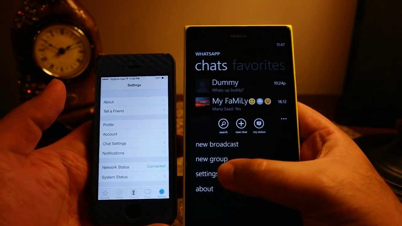 Phone Whatsup For Android Phone ios vs windows phone 8 whatsapp app comparison functionality features youtube