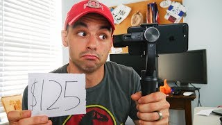 Is the Cheapest Cellphone Gimbal YOU can get worth it? Zhiyun Smooth Q Stabilizer!