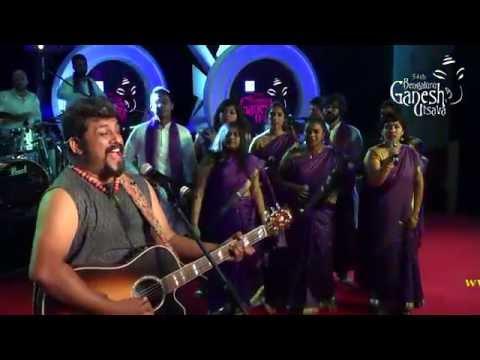 'Kodagana Koli' by Berklee indian ensemble USA with Raghu Dixit @ 54th Bengaluru Ganesh Utsava