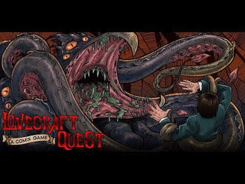 Lovecraft Quest – A Comix Game 1