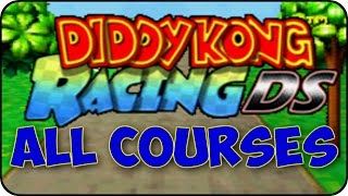 Diddy Kong Racing DS - All Courses