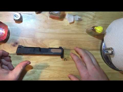 Gun Inlay Fill Paint - Easy Step By Step
