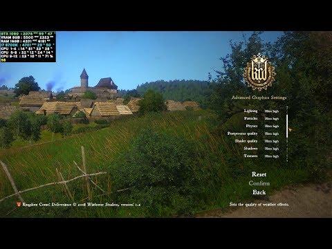 Kingdom Come Deliverance PC - i7 8700K - GTX 1080 - 1440p