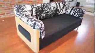 Мебель из Финляндии, диван-кровать ON (Pedro)(Экологически чистая мебель из Финляндии Без помощи какого-либо сложного механизма диван