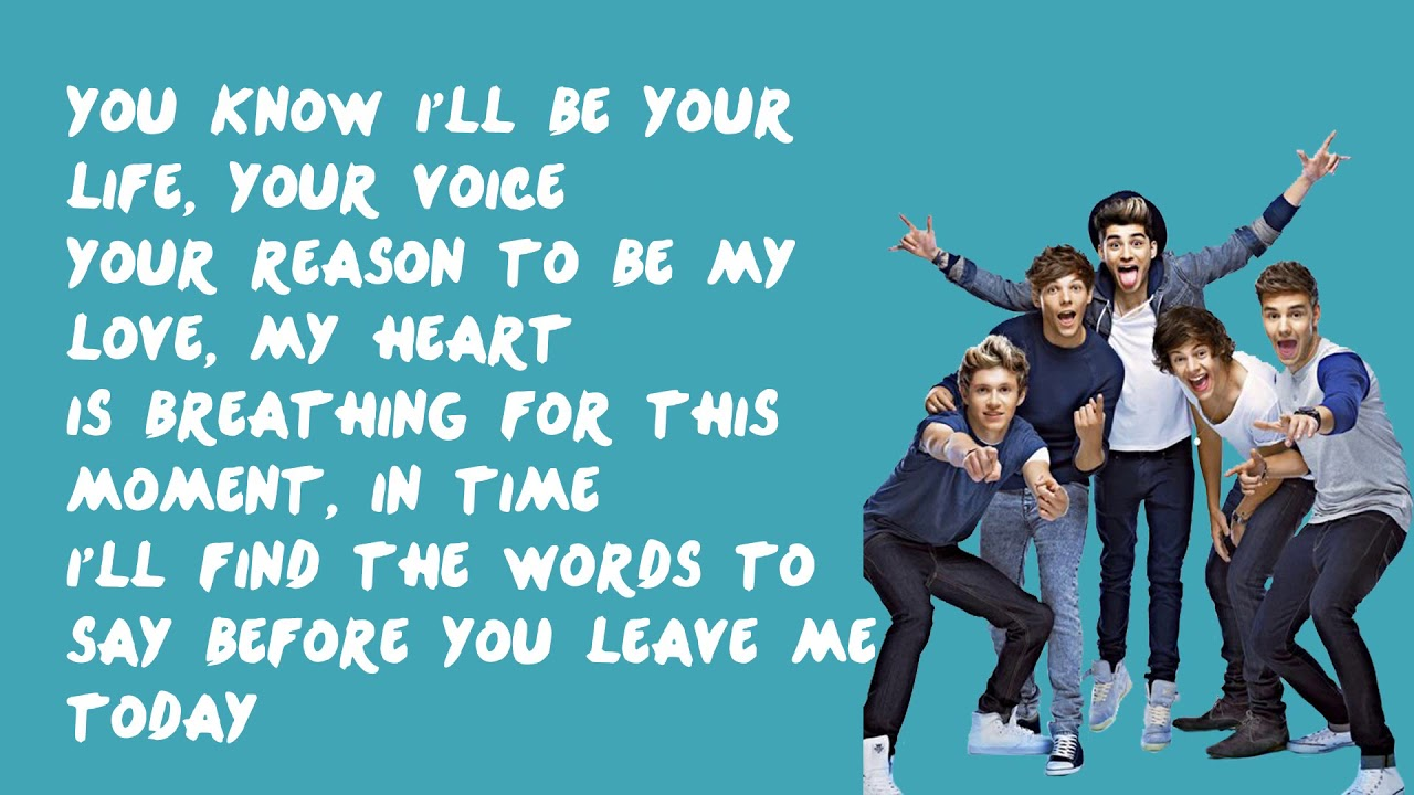 Download Moments - One Direction (Lyrics)