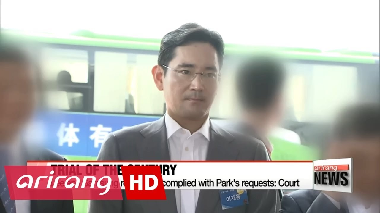 Samsung Vice Chairman Lee Jae-yong Sentenced To 5 Year Prison Term For Corruption