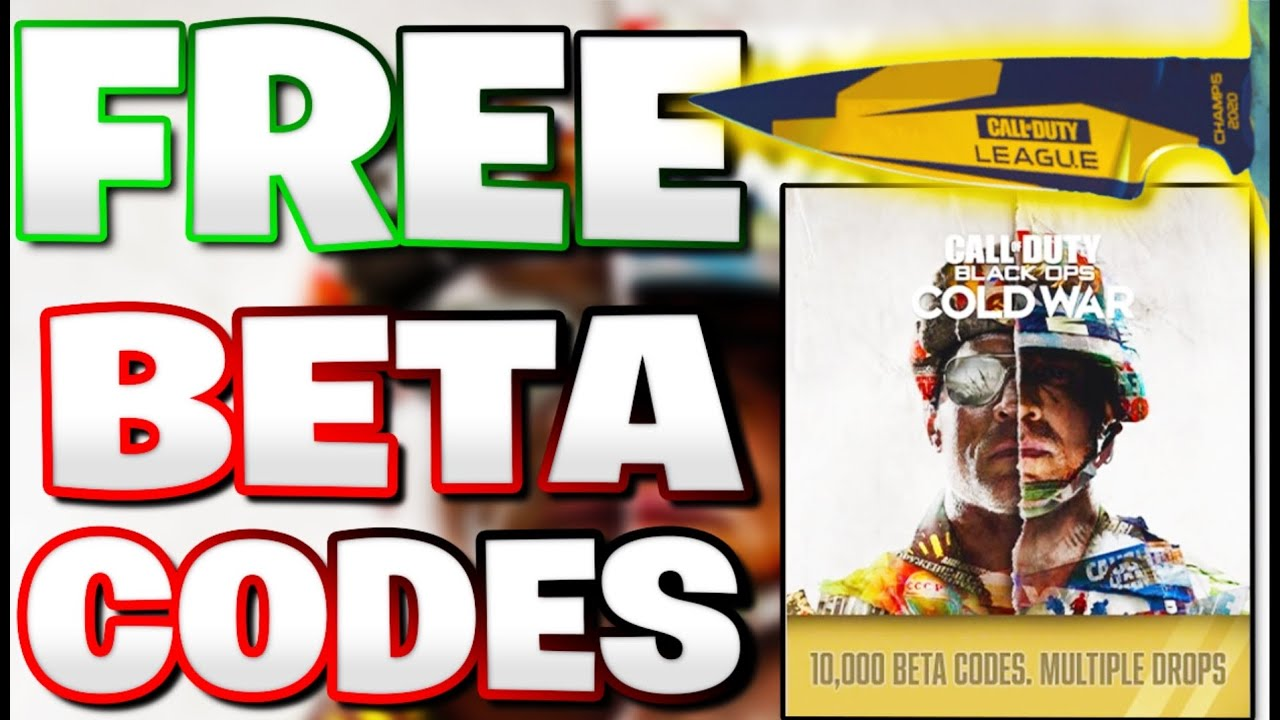 Call Of Duty Black Ops Cold War How To Earn A Beta Code