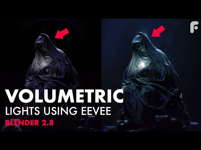 Volumetric Lights Using Eevee in Blender 2.8