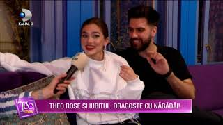 Teo Show (02.11.2020) - Theo Rose si iubitul, dragoste cu nabadai! Cum se critica cei doi?