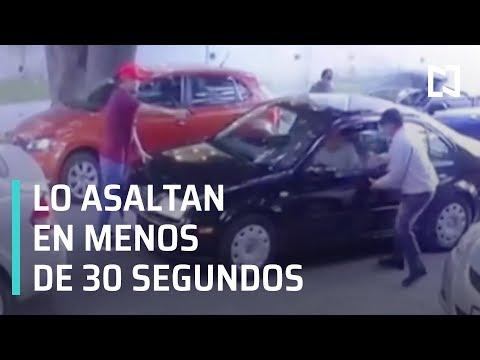 Robo a automovilista CDMX | Asalto a automovilista CDMX - Las Noticias