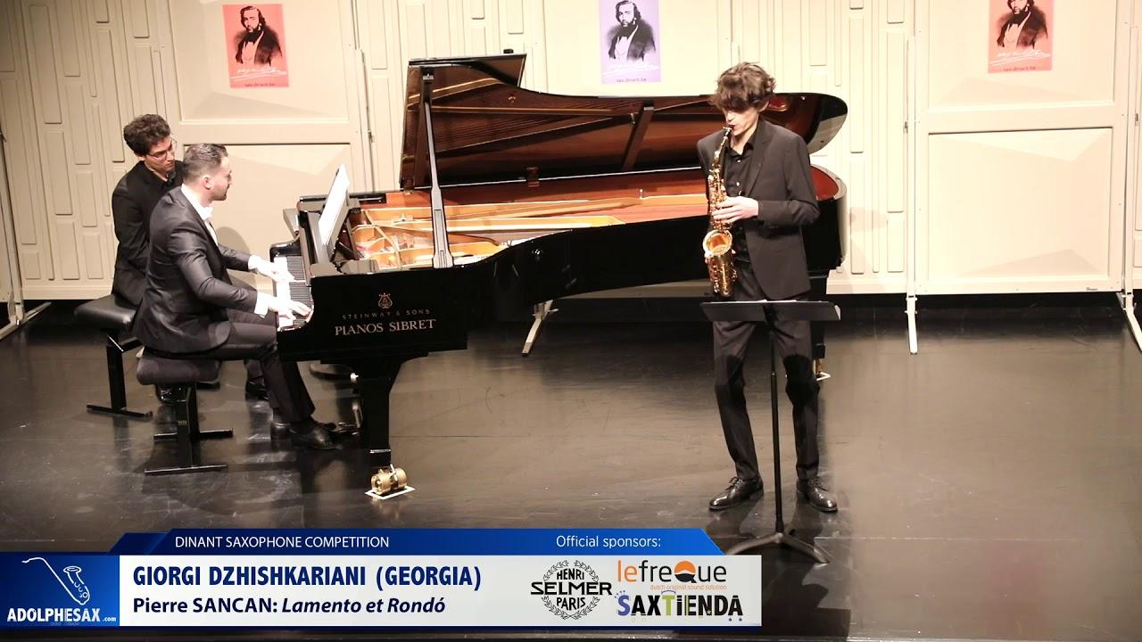 Giorgi Dzhiskariani (Georgia)- Lamento et Rondó by Pierre Sancan (Dinant 2019)