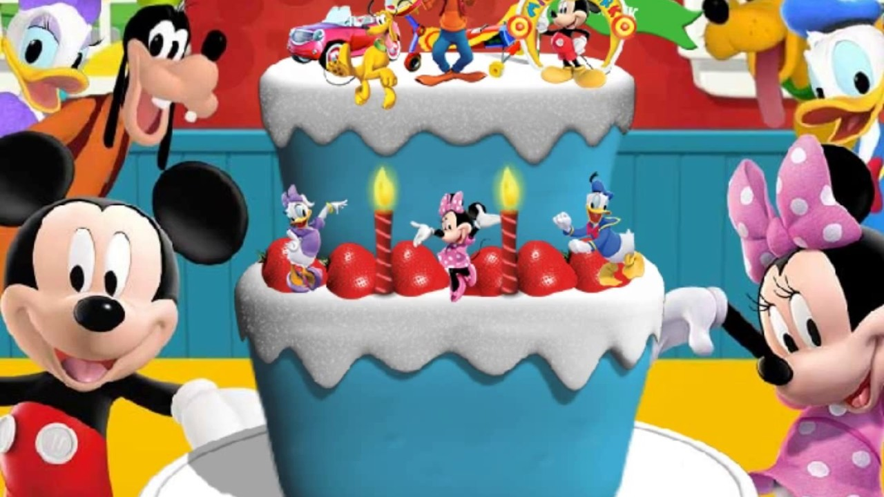 Happy Birthday Party Mickey Mouse Clubhouse Disney Junior Games For