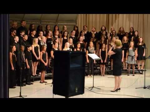 Mascoutah Middle School 7/8th grade chorus, fall 2013