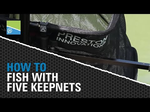 How To Easily Fish With Five Keepnets On A Commercial Fishery.