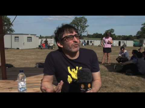 Video of the week: Ian Broudie from The Lightening Seeds, V Festival Interview