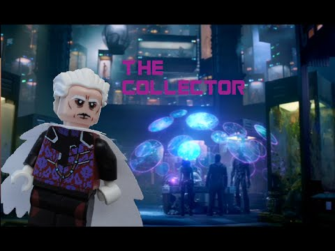 "Lego Marvel ""The Collector"" custom figure by Phoenix Customs"