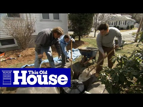 How To Install A Dry Well For A Sump Pump