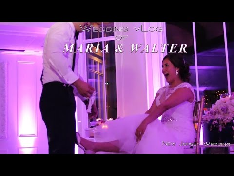 Latin New Jersey Wedding Recption/ Maria & Walter/Westmount Country Club NJ/NY