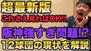 【阪神強すぎ問題】12球団の現状まとめ超最新情報!! 今後の課題についても詳しく解説します【プロ野球 阪神】