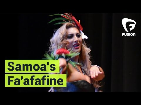 Samoa's Fa'afafine, Men With the Manner of a Woman
