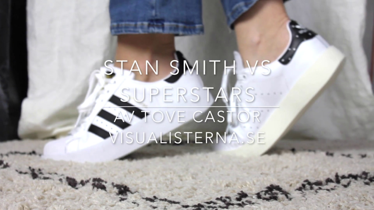 772c45a77593 Stan Smith VS Superstars - YouTube