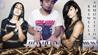 krewella   ammunition epic piano cover