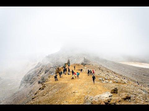 Tongariro Alpine Crossing Dec 3 2016 /Mt Mordor Lord Of The Rings