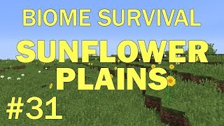 Minecraft Biome Survival #31: Sunflower Plains