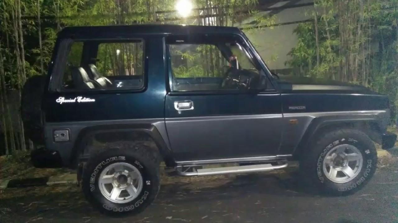 Dijual Mobil Daihatsu Feroza Tahun 1994 Youtube