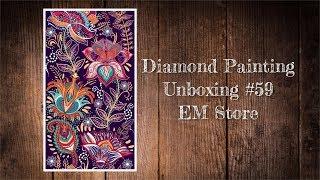 Diamond Painting Unboxing #59 - EM Store