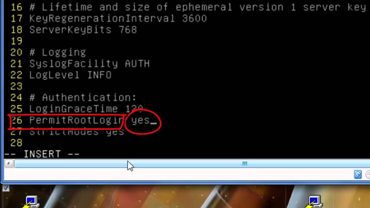 Debian :Problem Putty access denied root (see Description below)